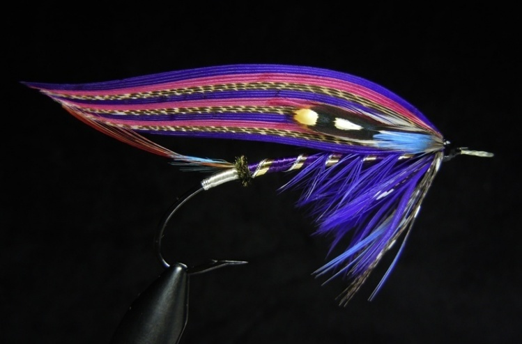 The Deep Purple - Classic Salmon Fly - Fly dreamers Classic Atlantic Salmon Fly Patterns