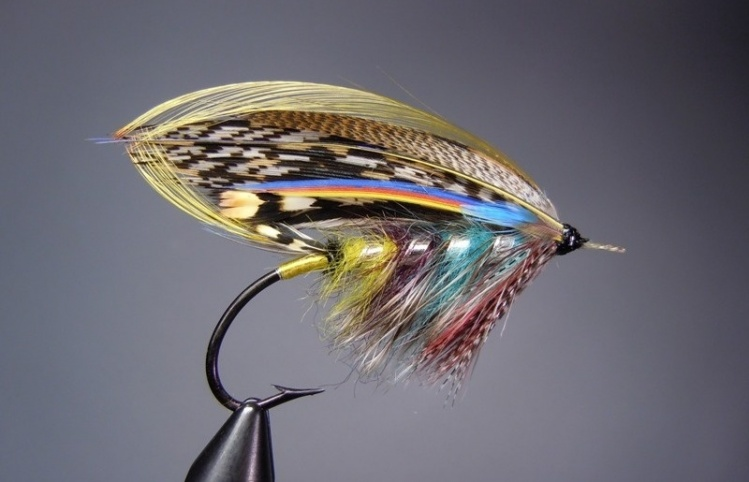 The Hempseed, an Old Tweed Pattern - Fly Tying - Fly dreamers Classic Atlantic Salmon Fly Patterns