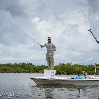 Fly fishing Florida flats