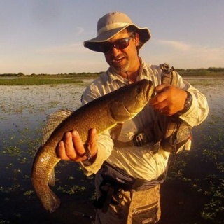 Fly fishing for Wolf Fish - Dario Arrieta