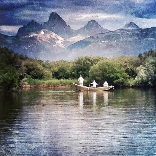 Teton valley lodge fly fishing lodge fly dreamers for Idaho fly fishing lodges