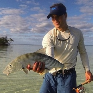 Nice day on the flats east Grand Bahama.