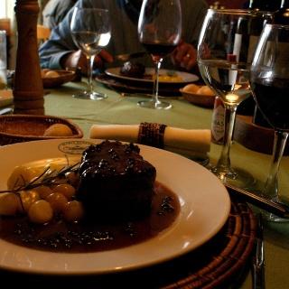 Dinner - Estancia Maria Behety Lodge - Argentina