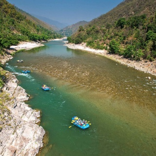 Float trips in the Himalayas of northern India.