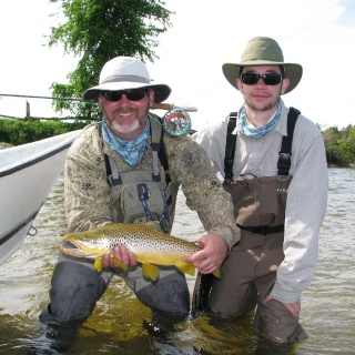 Pullin' Streamers for Brown Trout - Saugeen River