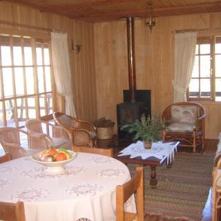 Interior de uno de los alojamientos.
