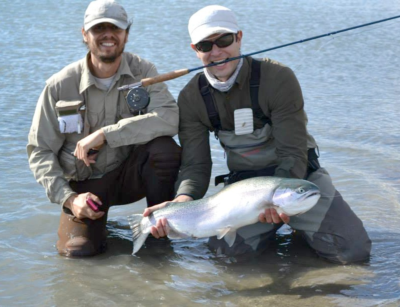 Hugo tello fly fishing guide fly dreamers directory for Fishing report santa cruz