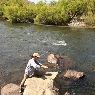 Malleo River Argentina