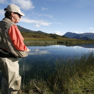 Fly fishing - Hess Channels - Rio Manso Lodge
