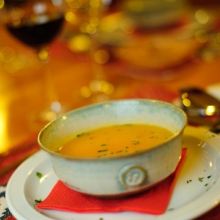 Soup at the Rio Manso Lodge