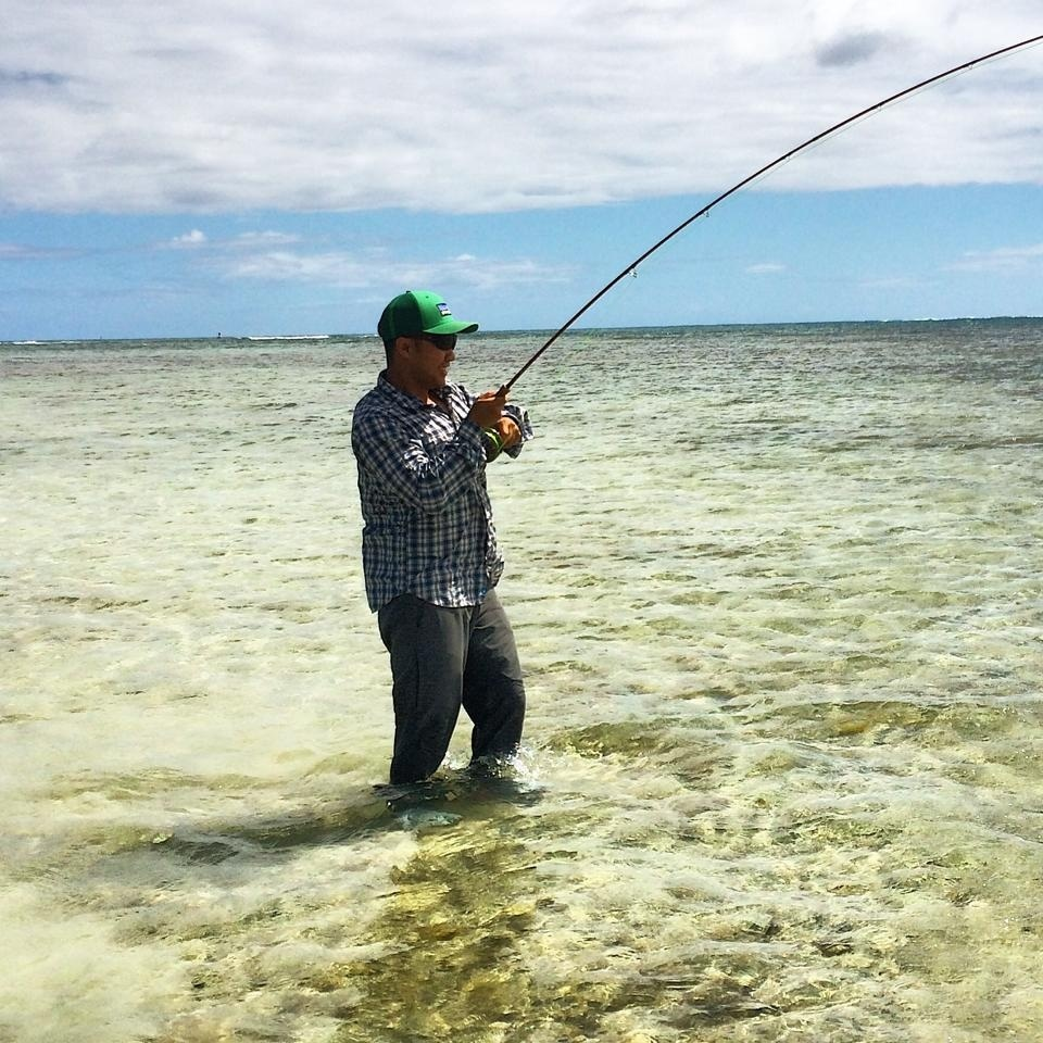 Hi tide fly fishing fly fishing guide fly dreamers for Fishing in hawaii oahu