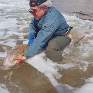 Pesca de apertura de temporada con Gerardo Santos
