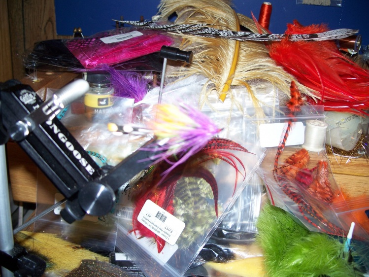 Need any flies tied. Can tie anything from adams to Zonkers to Tube flies
