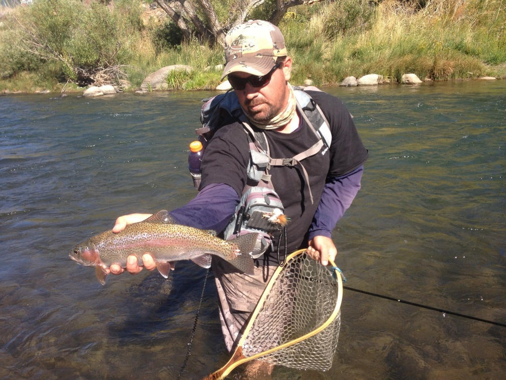 Tahoe fly fishing outfitters fly fishing agent fly for Topaz lake fishing report