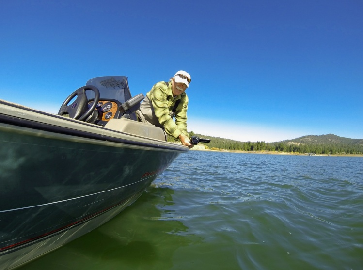 Fishing report lake davis by jon baiocchi fly dreamers for Lake of egypt fishing report
