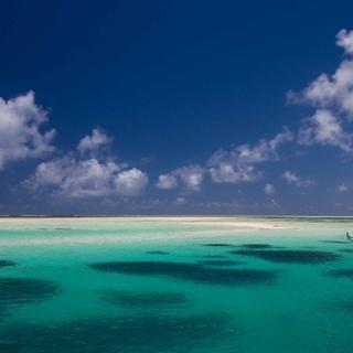 Alphonse Island, Seychelles, Flats