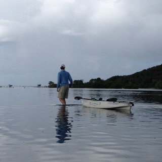 Kayak from your cabana to walk the Breakfast Flats. - Mango Creek Lodge