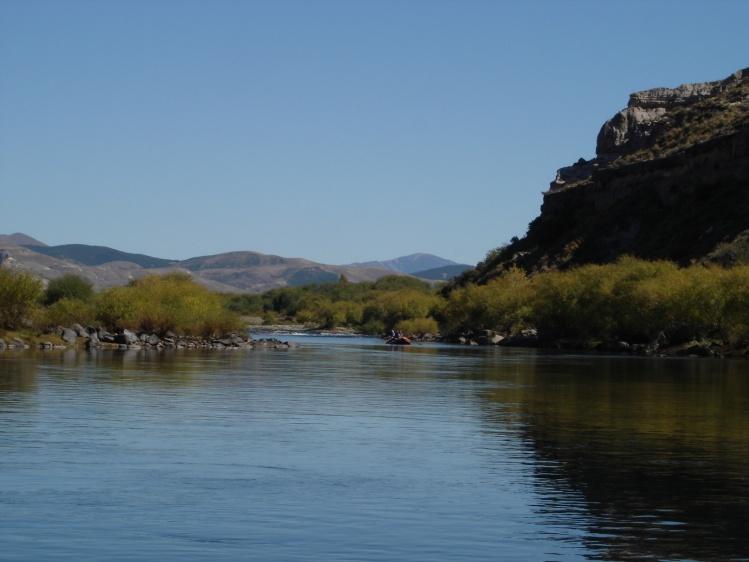 Rio Chimehuin, Junin de los Andes , Neuquen , Argentina