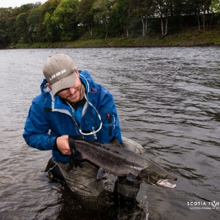 Salmon for head guide & owner Callum