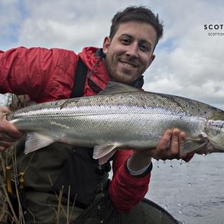 Lovely Spring fish for owner Callum Conner