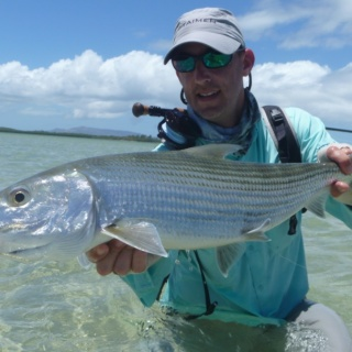 10 pounds bonefish - New Caledonia
