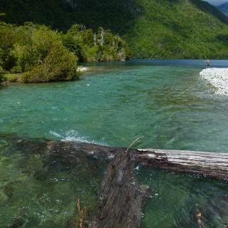 Pesca en Lago Azul