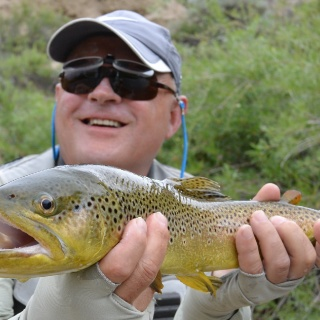 Little nymphs on The Beaverhead produce nice trout!