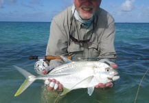 Fly-fishing Pictureof Trevally - Brassy shared by Douglas I. D. McLean – Fly dreamers
