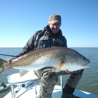A Monster Biloxi Marsh Redfish
