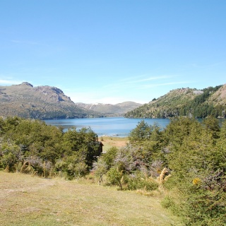 Laguna Larga from the lodge