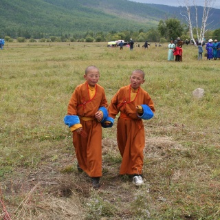 Mongolians are Buddhists and are very accepting people.