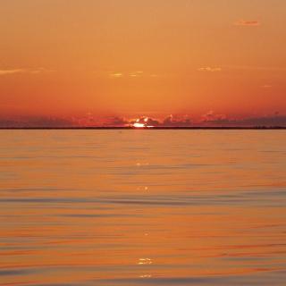 Red Sunset at Cozumel Island, Mexico. www.pescacozumel.com