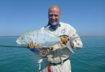 Fly-fishing Pic of Golden Trevally shared by Richard Carter – Fly dreamers