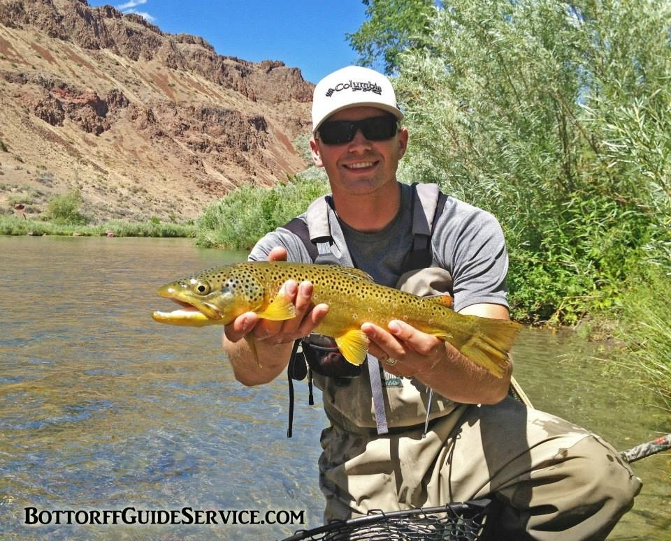 Bottorff guide service llc fly dreamers directory for Fly fishing classes near me