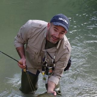 Fario trout Nera River Italy