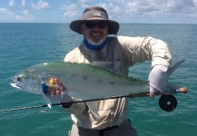 Fly-fishing Pic of Queenfish shared by Peter Cooke – Fly dreamers