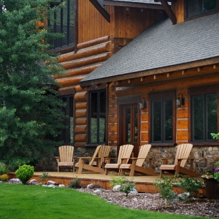 Luxury log lodge on 1800 acres and 3.5 miles of the Big Hole River in Montana