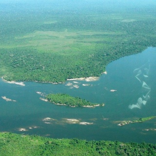 Fishing spot at Tapajós river