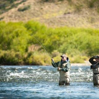 Fly fishing picture
