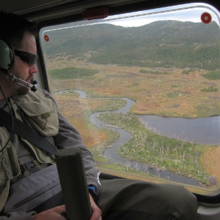 On our way to the next fishing location - Heli fishing - Lakutaia Lodge