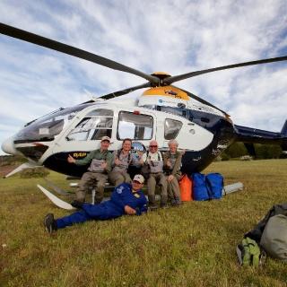 Heli Fly Fishing - Lakutaia Lodge