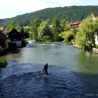 Fly fishing in Slovenia @ Urko Fishing Adventures More info: http://urkofishingadventures.com/
