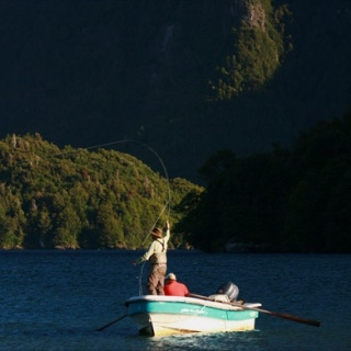 Yelcho lake fishing -  Yelcho en la Patagonia Lodge