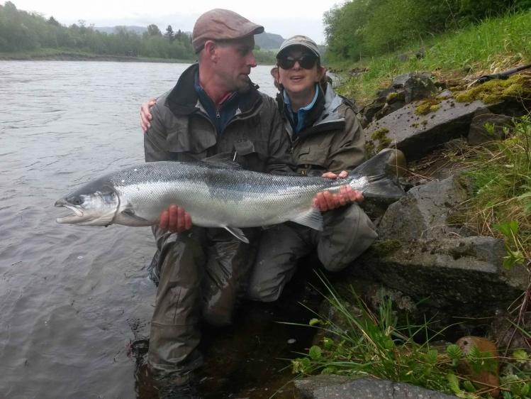 Gaula River, Noruega
