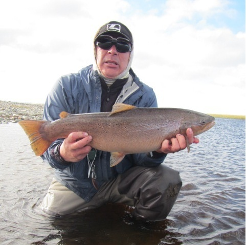 Penitente river, Punta Arenas, Region de Magallanes y de la Antartica Chilena, Chile