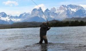 Serrano river, Puerto Natales, Region de Magallanes y de la Antartica Chilena, Chile