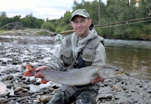 Rafal Slowikowski 's Fly-fishing Image of a Taimen – Fly dreamers