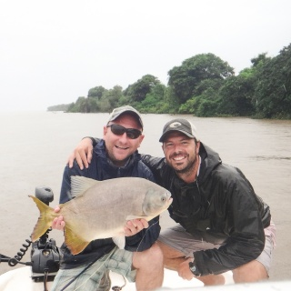 Pacu Fishing at Paso de la Patria - Golden dorado Fly fishing lodge