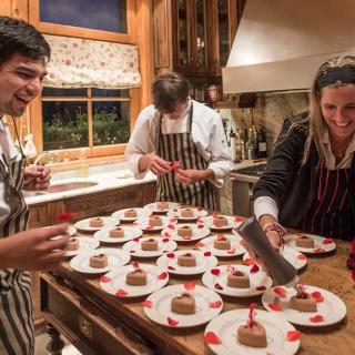 Patagonia River Ranch - Dessert Preparation