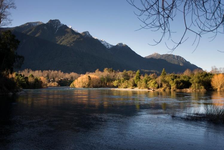 Rio Calcurrupe, Llifen, Provincia del Ranco, Chile
